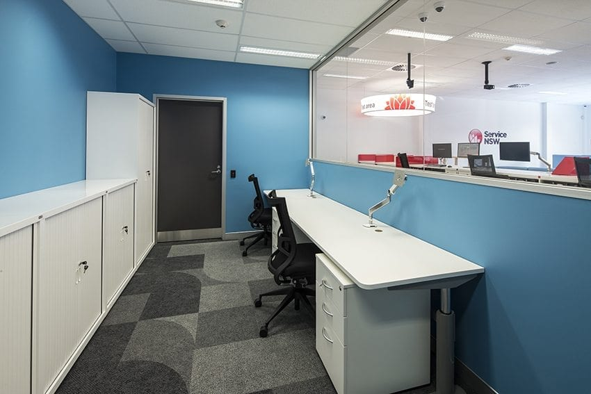 CSM Office Storage Solutions - Service Centres - Cabinets