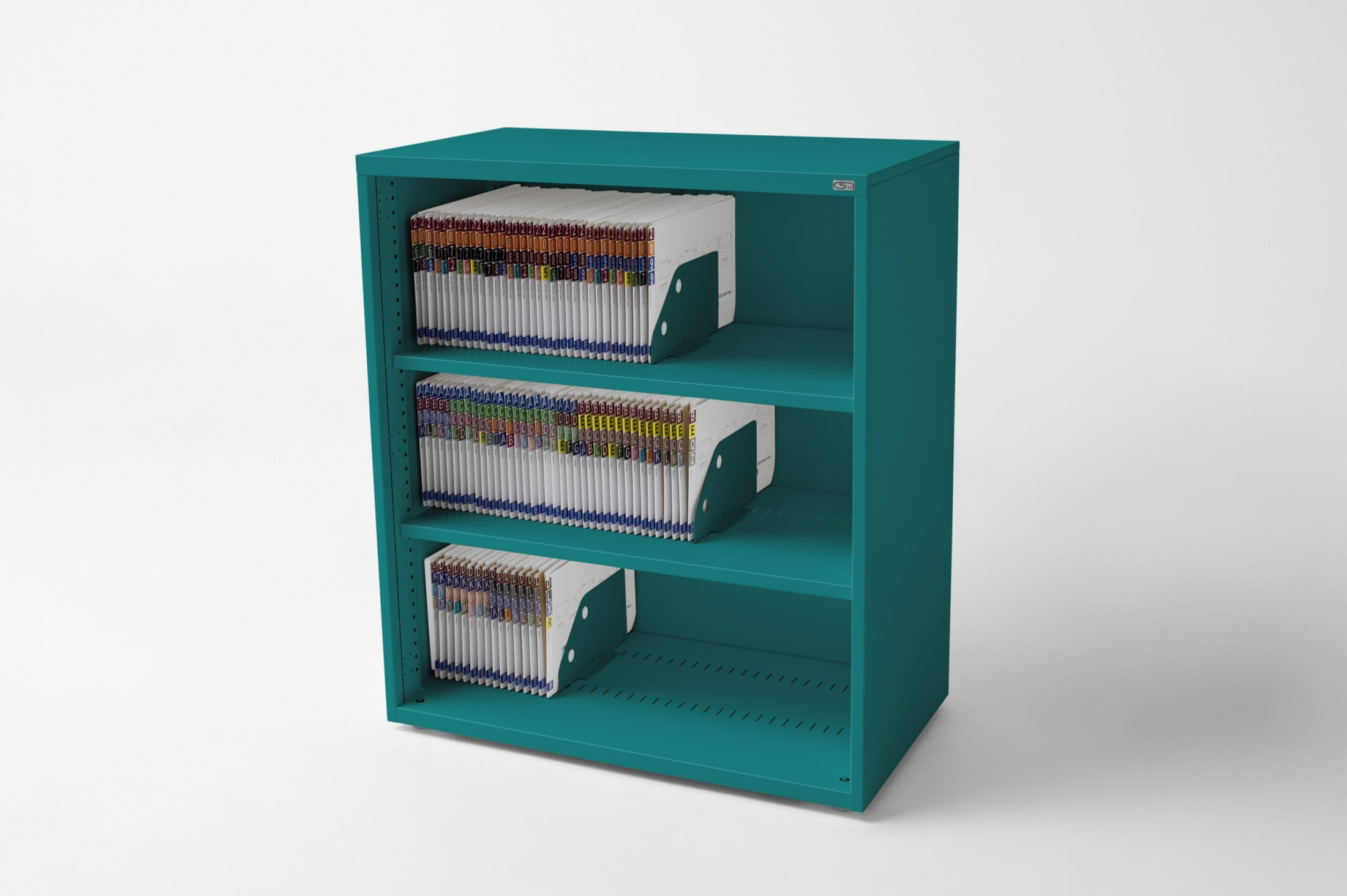 Open Bookcase Teal