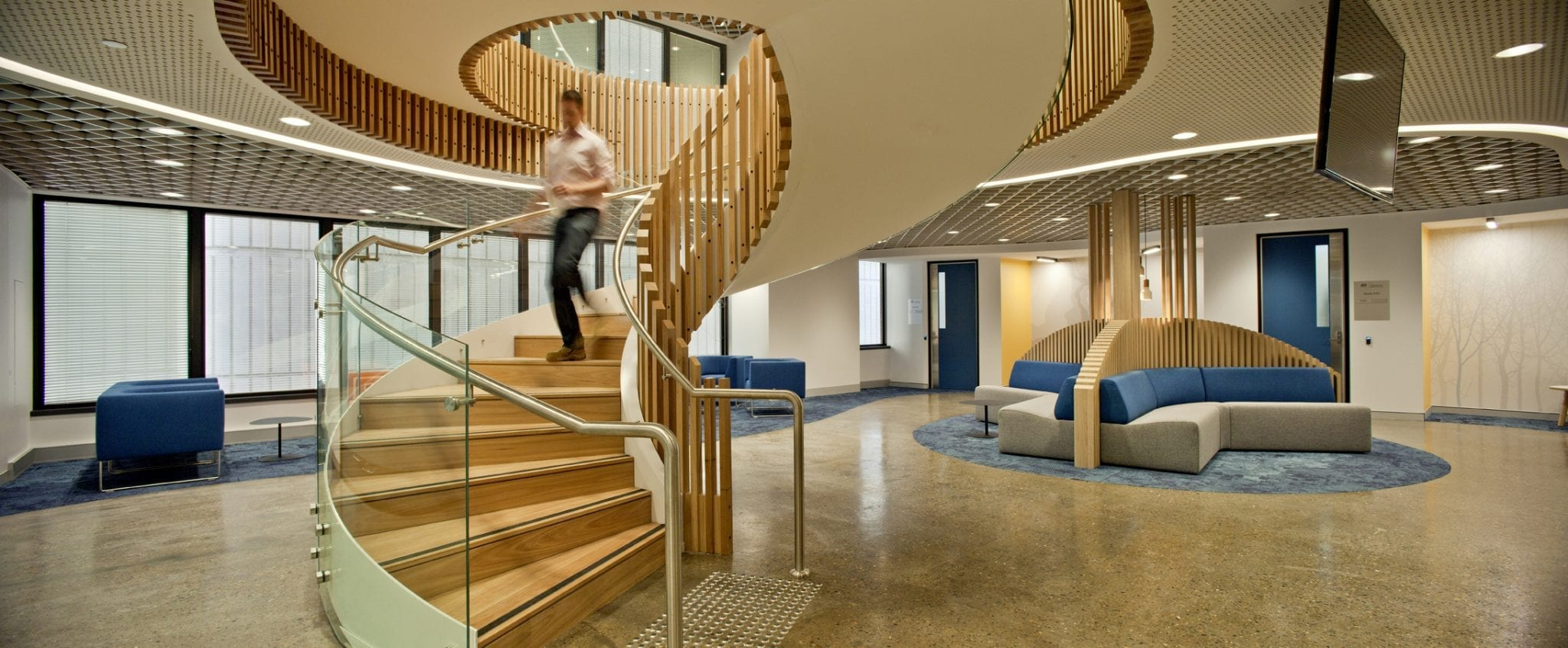 Tribunal Staircase and Offices Furniture