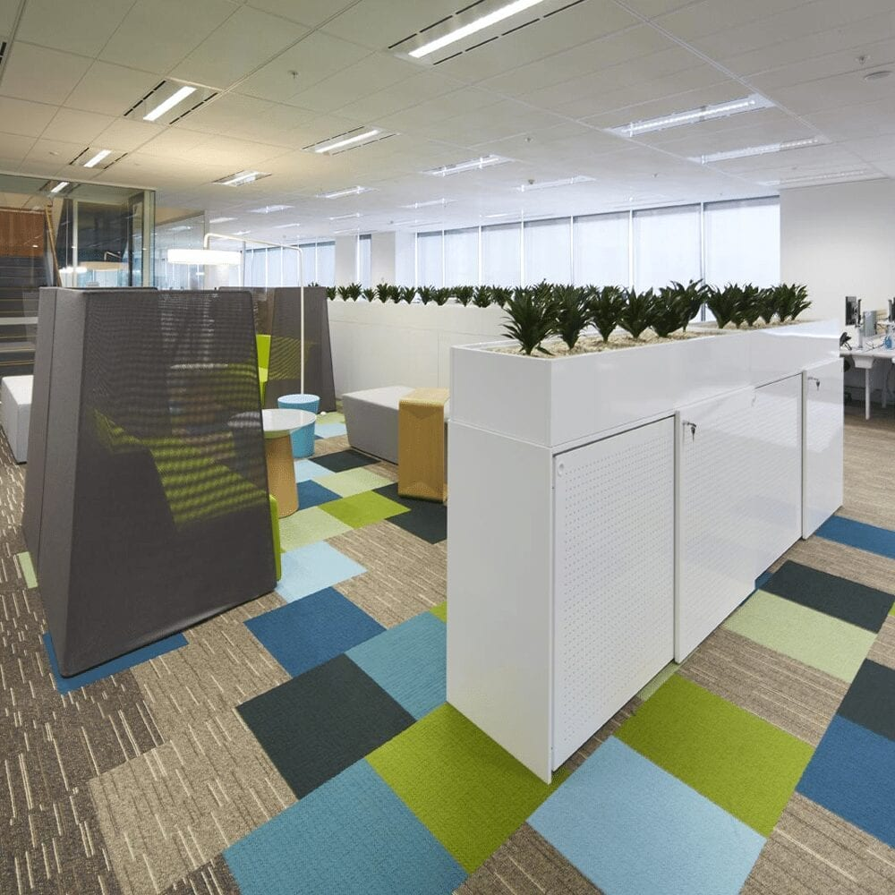 Office Cabinet and Planters