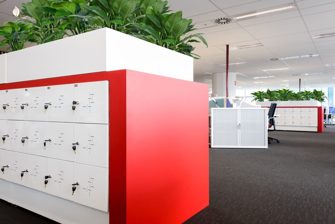 CSM Office Storage Solutions - Lockers - Flexible Solutions