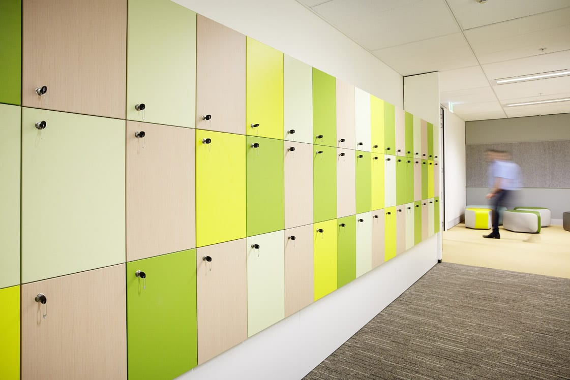 CSM Office - Manufactured Lockers - Customized