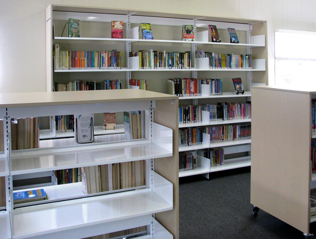 Library Open Shelving