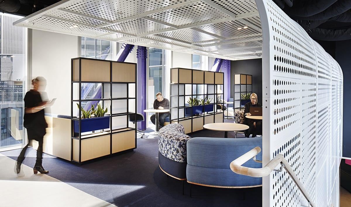 Bank of Melbourne Office Furniture and Planters
